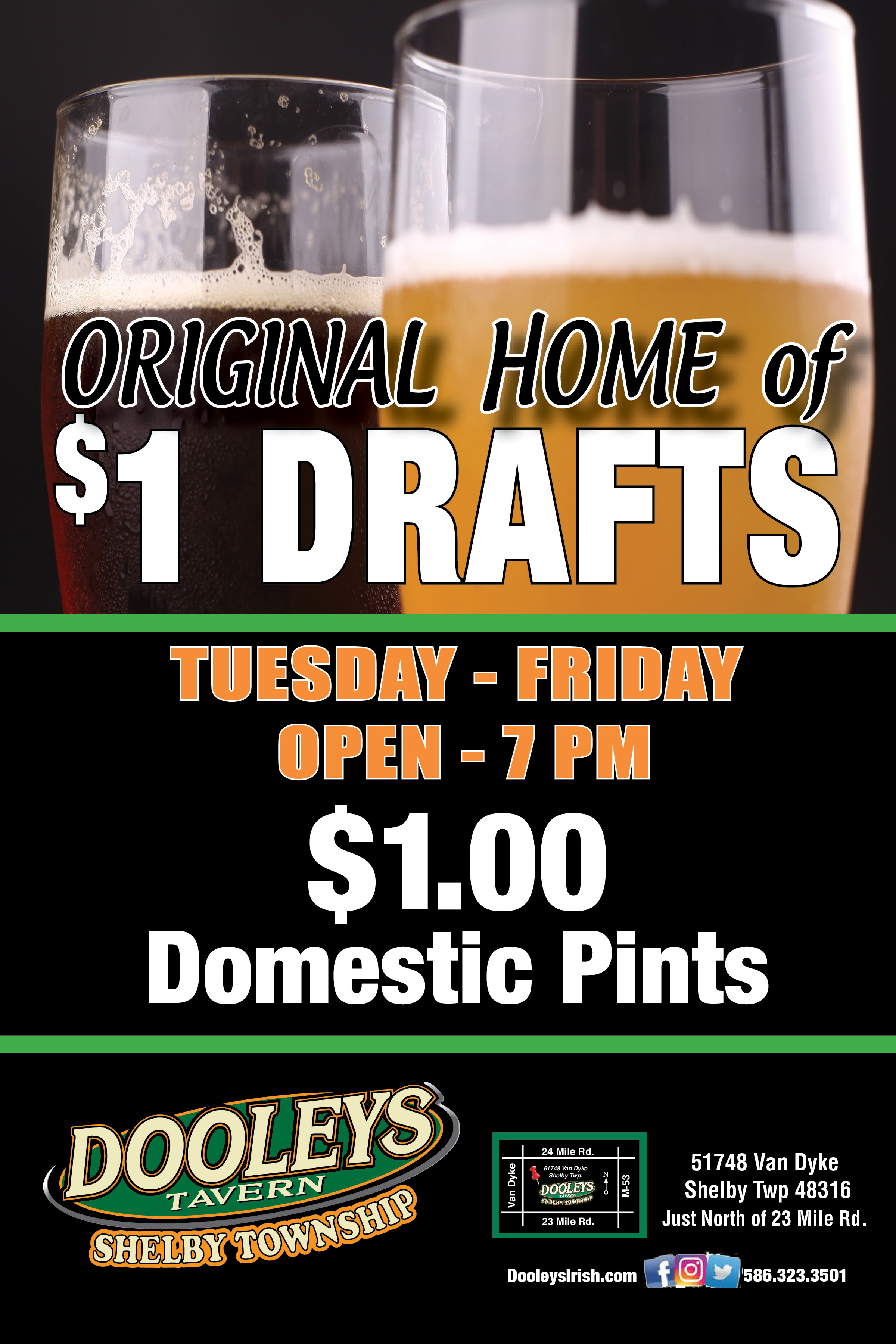 Home of the $1 Pints
